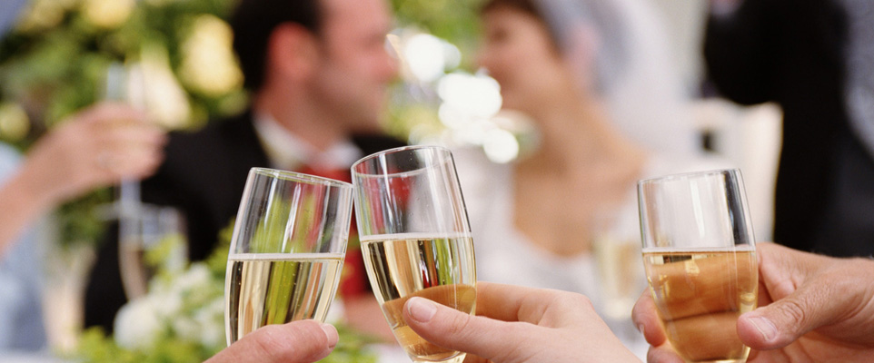English wine for weddings and parties
