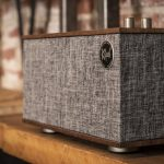 Klipsch The Three II Speaker with audio input and amplification for Turntable